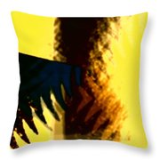 Change - Leaf1a Throw Pillow