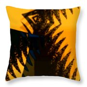 Change - Leaf3 Throw Pillow
