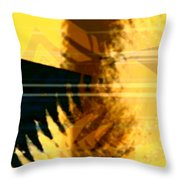 Change - Leaf7 Throw Pillow