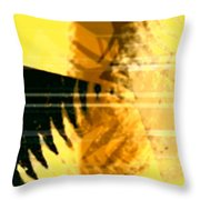 Change - Leaf8 Throw Pillow