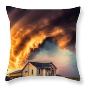 Change In The Weather 2 Throw Pillow