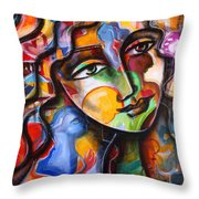 Change, Inspire, Pass It On Throw Pillow