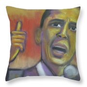 Change Is Coming Throw Pillow