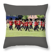 Change Of Guards - Canada Throw Pillow