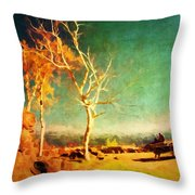 Change Vii Throw Pillow