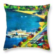 Change Viii Throw Pillow