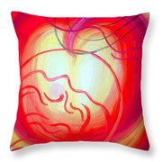 Changes In Mood And Mind. Double Light Throw Pillow
