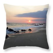 Changing Color Throw Pillow