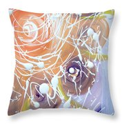 Changing Energy  Section Throw Pillow