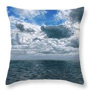 Changing Horizon Throw Pillow
