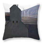 Changing Landscapes Throw Pillow