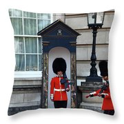 Changing Of The Guard 2 Throw Pillow