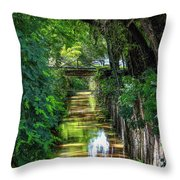 Channel-1 Throw Pillow