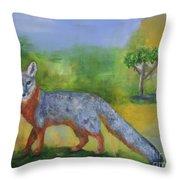 Channel Islands' Island Fox Throw Pillow