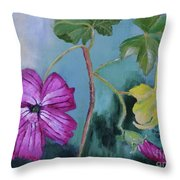 Channel Islands' Island Mallow Throw Pillow