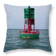 Channel Markers 2006 Throw Pillow