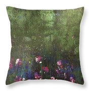 Channeling Monet #1 Throw Pillow