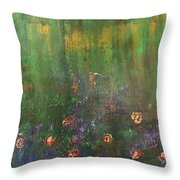 Channeling Monet #2 Throw Pillow