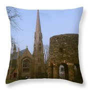 Channing Memorial Church Throw Pillow