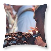 Chant To Valhalla Throw Pillow