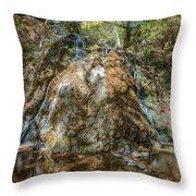Chantara Waterfalls - Cyprus Throw Pillow