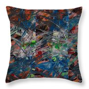 Chaos #2-128 Throw Pillow