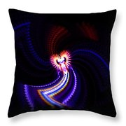Chaos Dance Throw Pillow