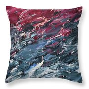 Chaos Serie, I Throw Pillow by Daniel Hannih