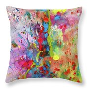 Chaotic Craziness Series 1988.033014 Throw Pillow