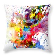 Chaotic Craziness Series 1998.033114 Throw Pillow