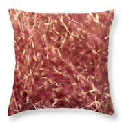 Chaotic Pink Serenity Throw Pillow
