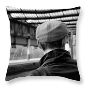 Chap In The Cap #3  Throw Pillow