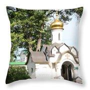Chapel At Saints Boris And Gleb Throw Pillow