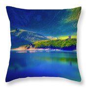 Chapel By The Lake Throw Pillow