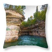 Chapel Cave Throw Pillow
