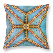 Chapel Ceiling Throw Pillow