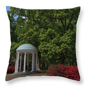 Chapel Hill Old Well Throw Pillow