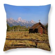 Chapel Of The Transfiguration Throw Pillow