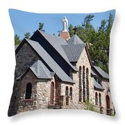 Chapel On A Rock 2 Throw Pillow