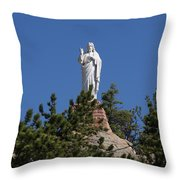 Chapel On A Rock 3 Throw Pillow