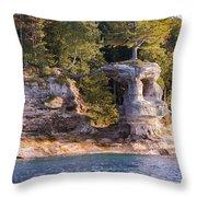 Chapel Rock Throw Pillow