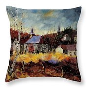 Chapelle D'havenne  Throw Pillow