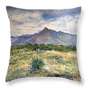 Chapmans Peak Cape Peninsula South Africa Throw Pillow