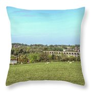 Chappel Viaduct Throw Pillow