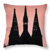 Chapter Church Of St Peter And Paul Throw Pillow