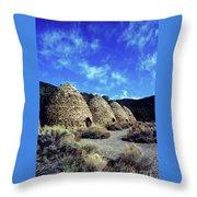 Charcoal Kilns Throw Pillow