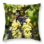 Chardonnay Throw Pillow