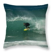 Charging The Closeout Throw Pillow