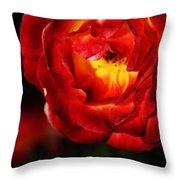 Charisma Rose Throw Pillow