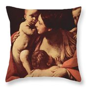 Charity 1607 Throw Pillow